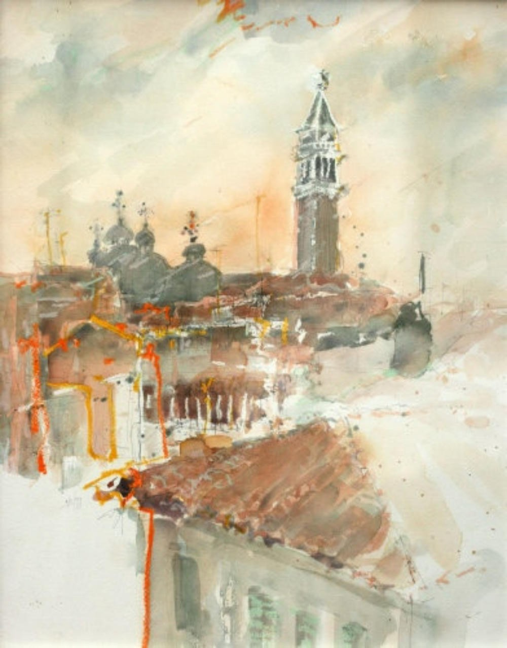 Morgenlicht über Venedig