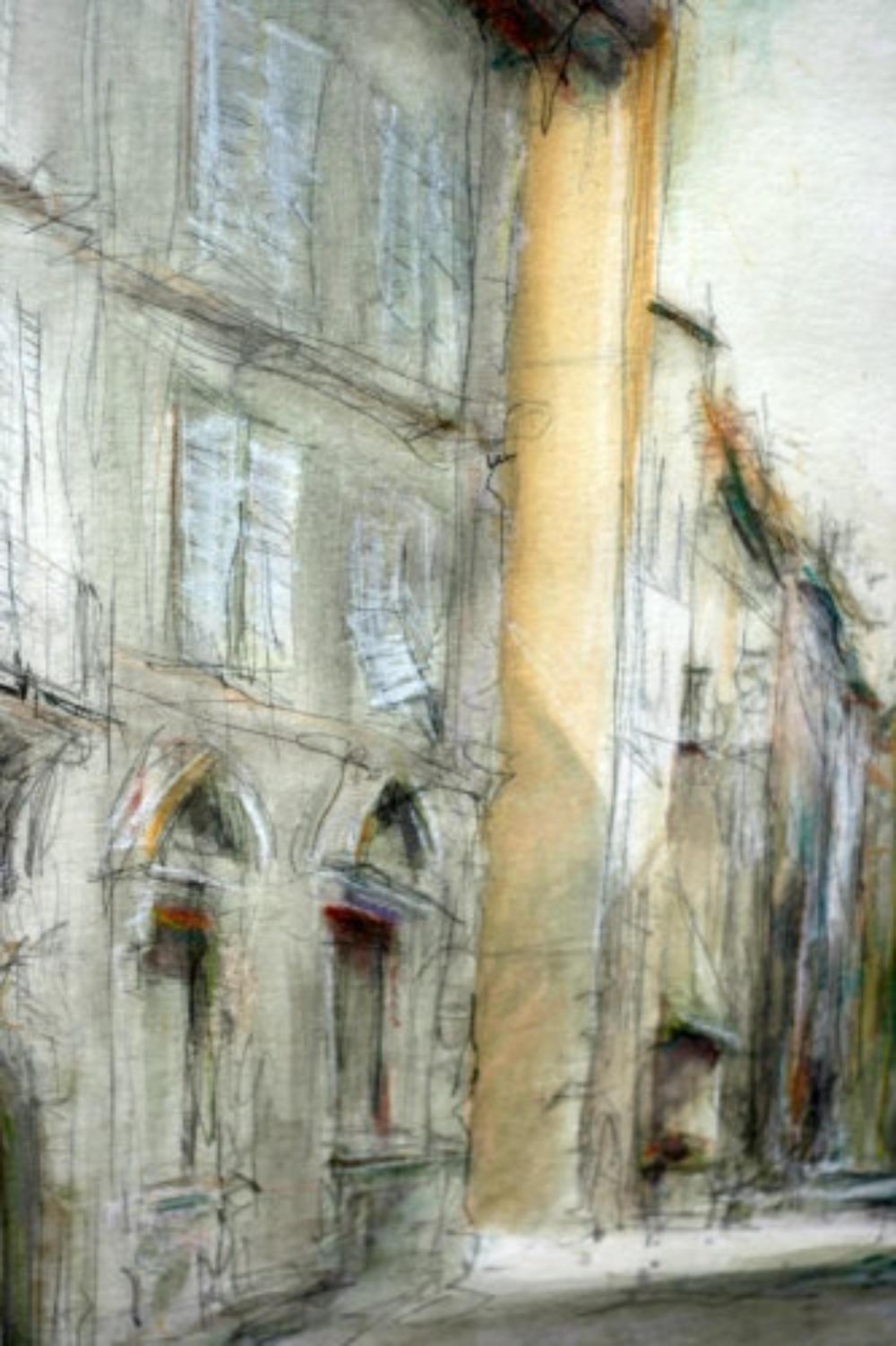 Una strada in Lucca (Detail)