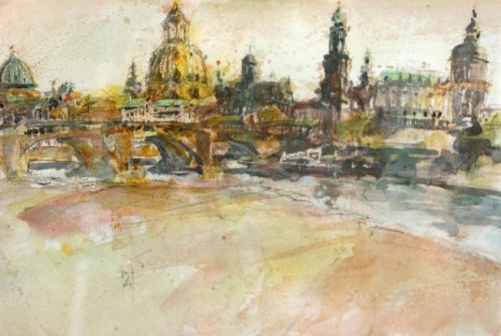Dresden wieder mit Frauenkirche