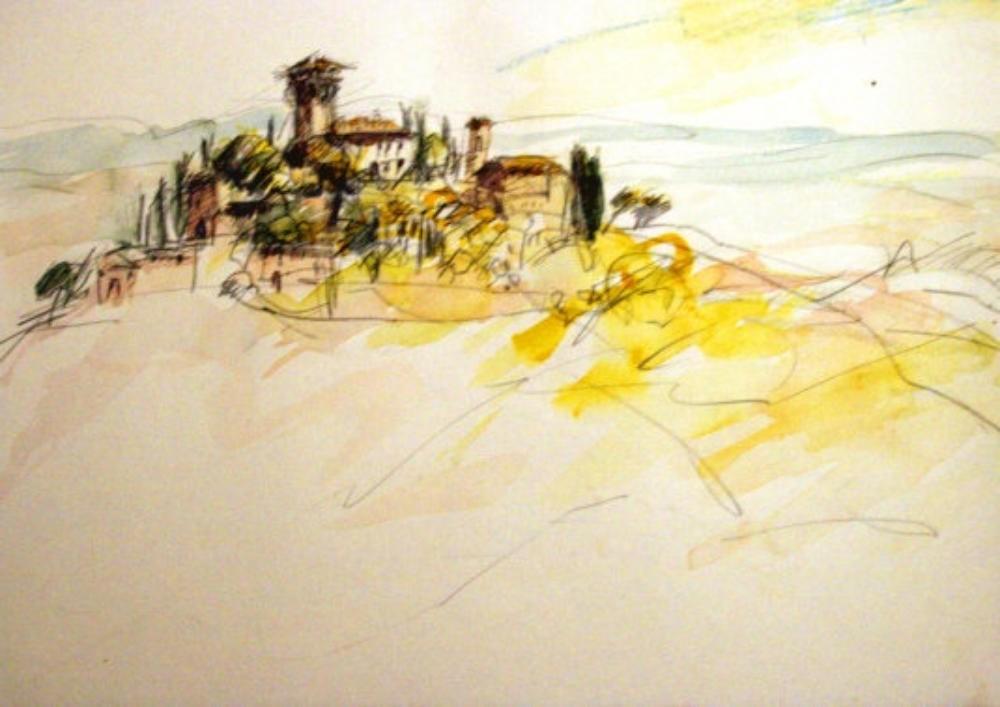 Castello di Verrazzano, la strada di Chianti I