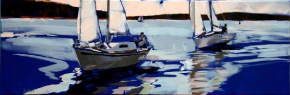 Boote auf der Müritz