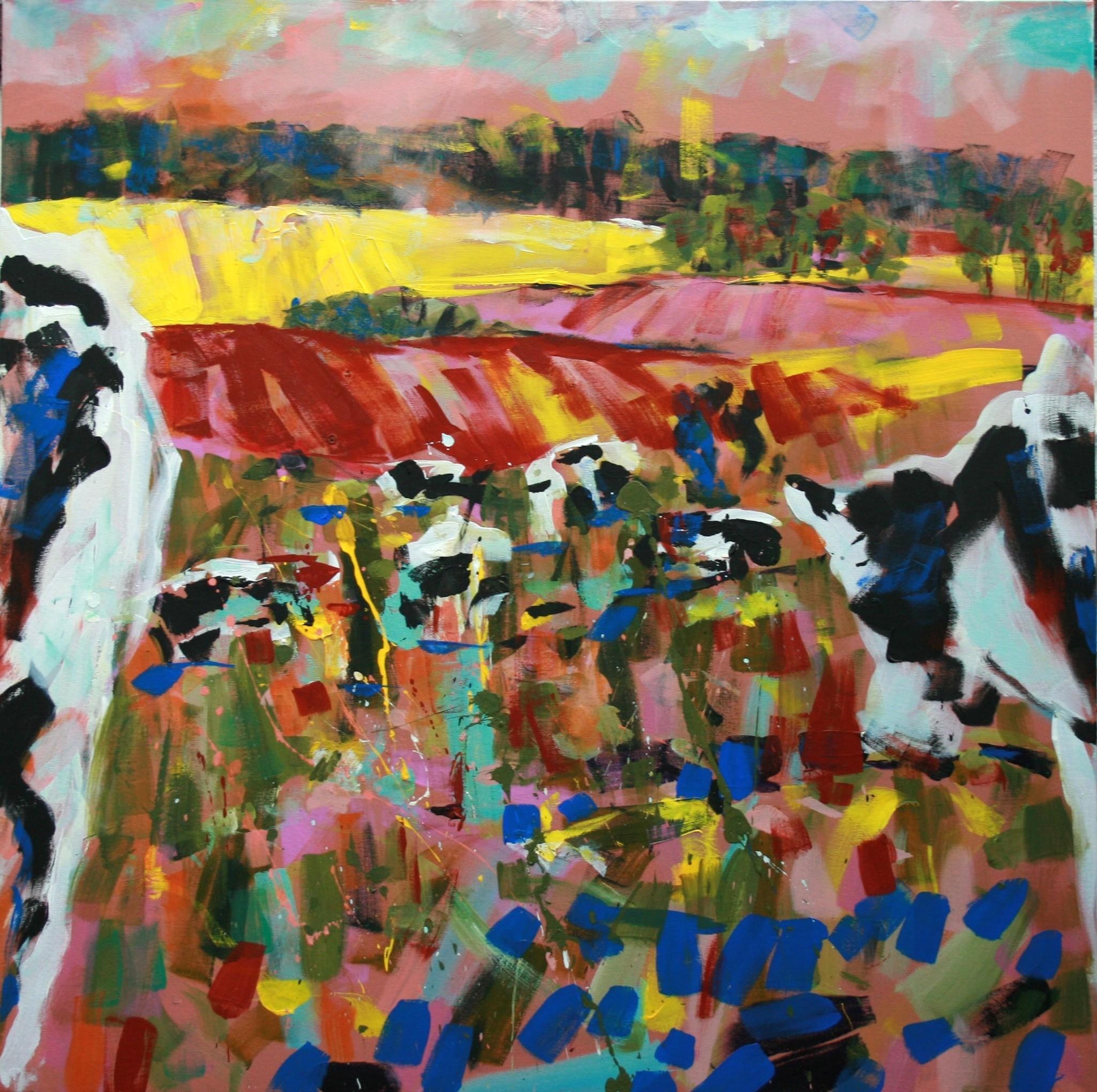 Kühe im Frühling II