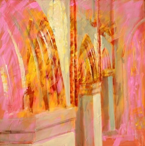 Licht in der St. Georgenkirche, Waren