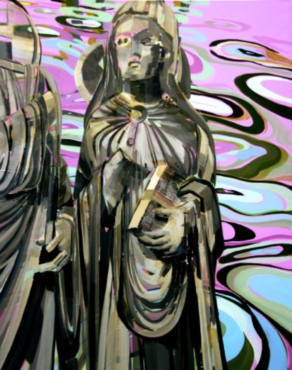 Maria mit Verkündigungsengel Gabriel, Chartres