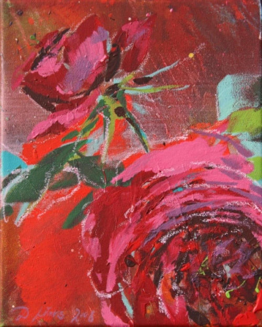Rose, rot III