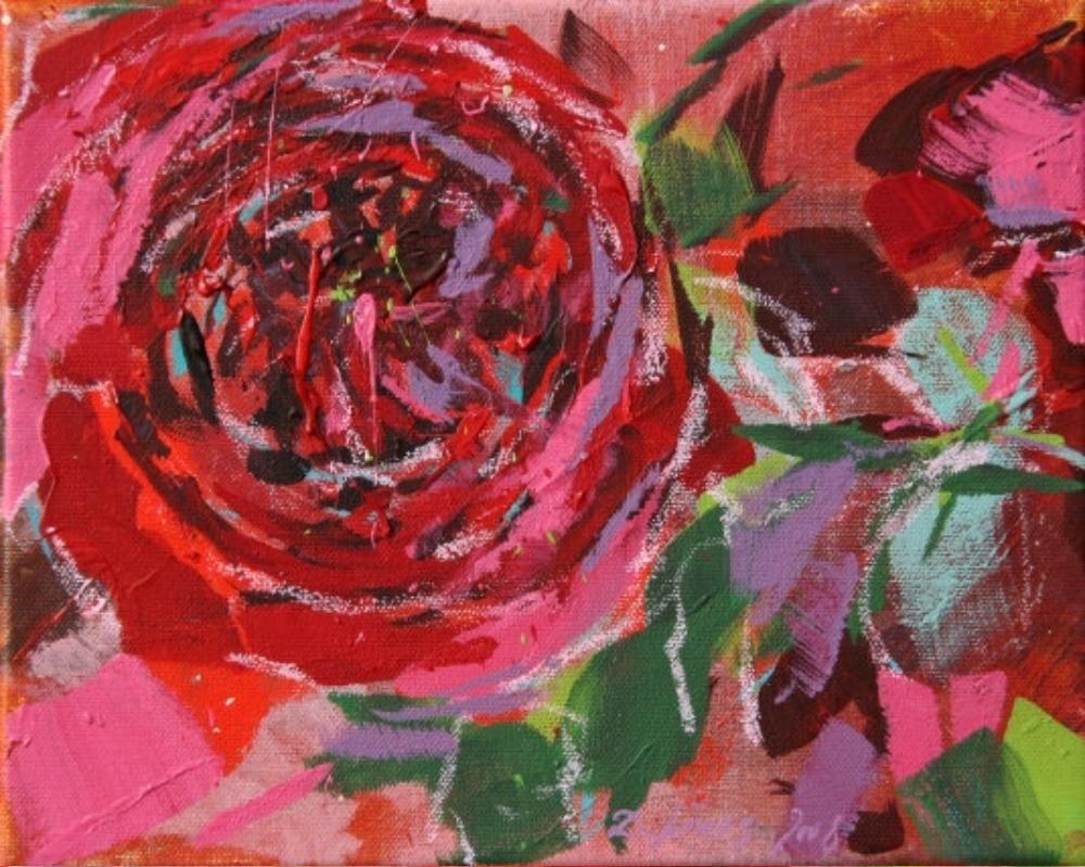 Rose, rot II