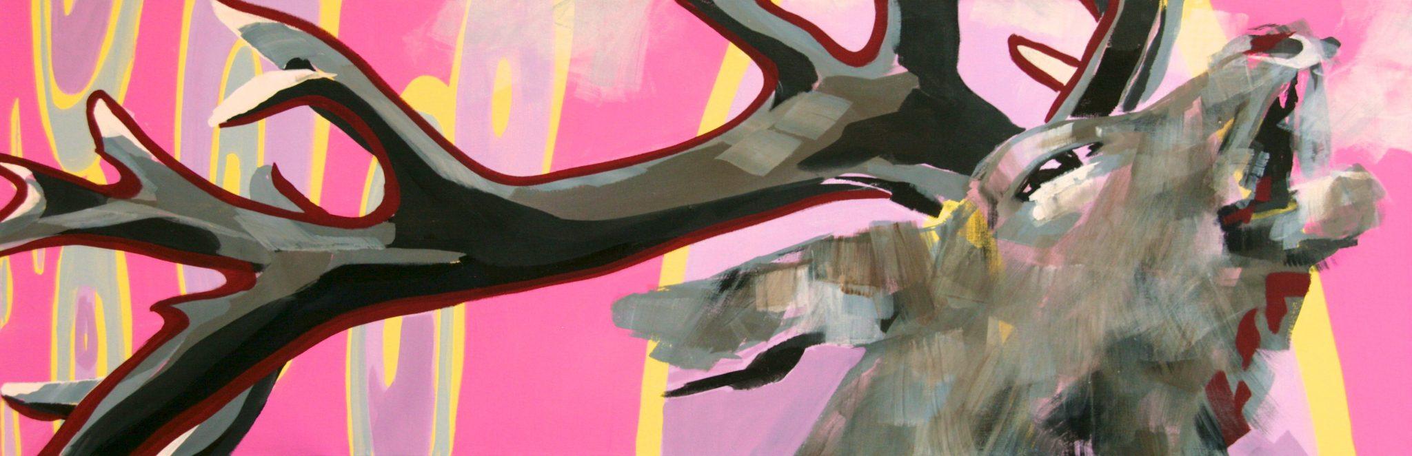 Röhren auf Pink