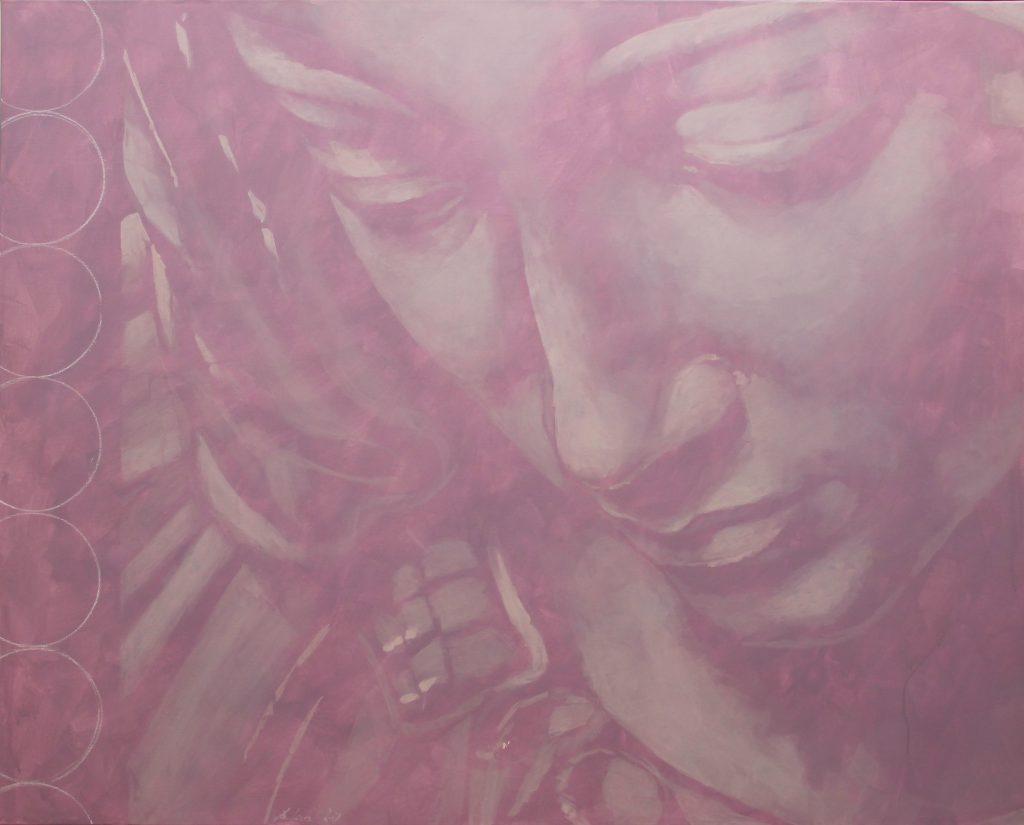 Madonna mit gesenktem Blick