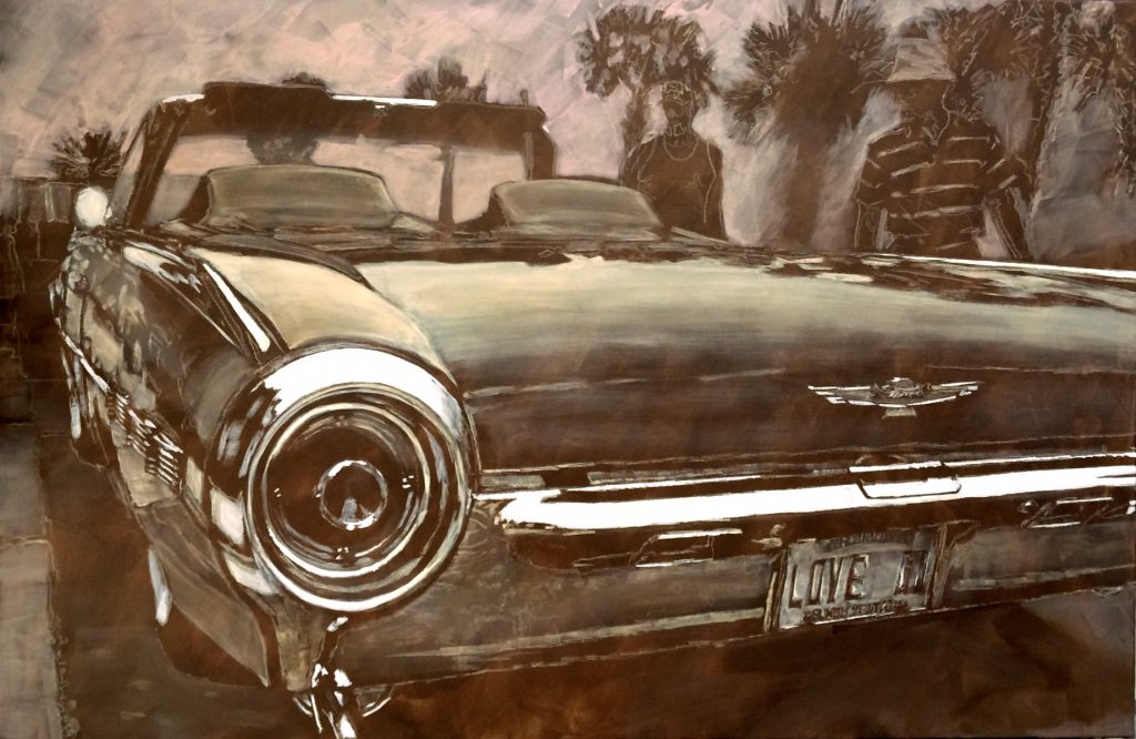 Thunderbird von hinten