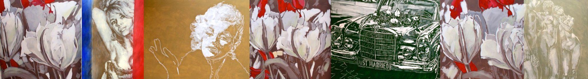 Bouquet des fleurs II Ausstellung 2017 DF.Lüers