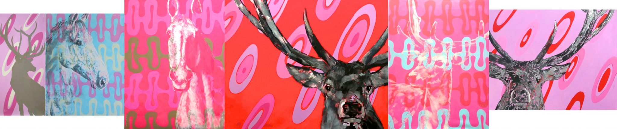 Himmelblau Rosa Ausstellung 2018 Sylt Galerie Nottbohm