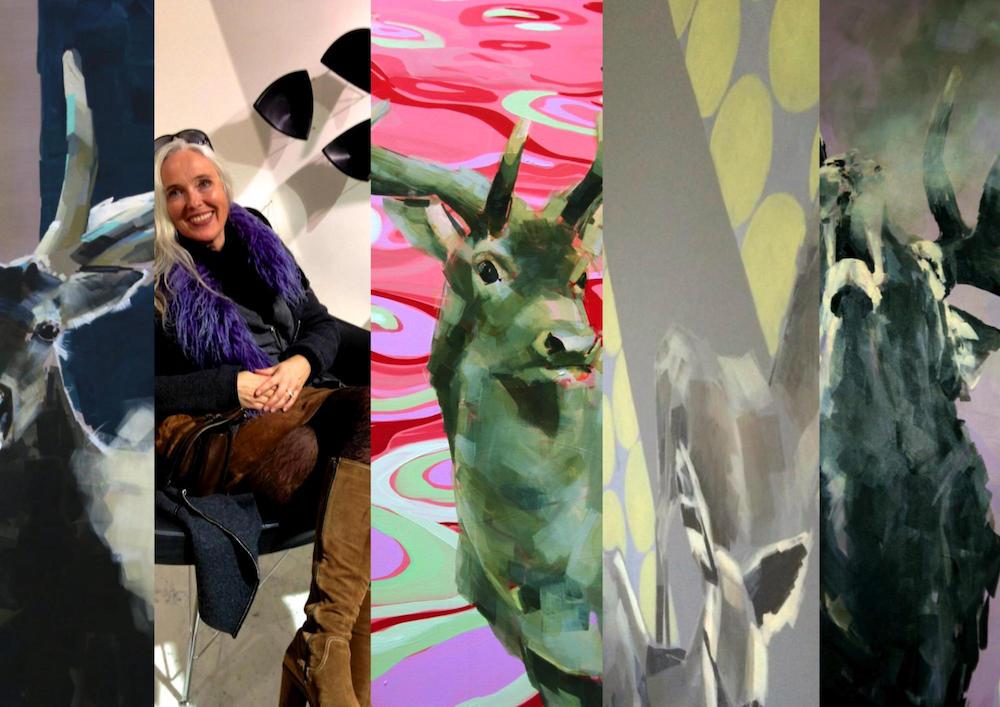 Ausstellung Wildwechsel Galerie Hackl