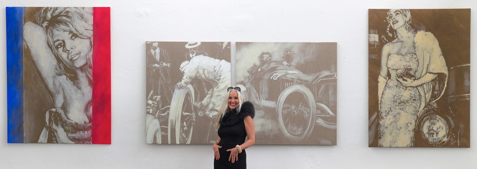 Daniela Friederike Lüers Ausstellung Mercedes Emozioni