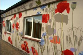 Haus Sinnesgarten Fassade 1