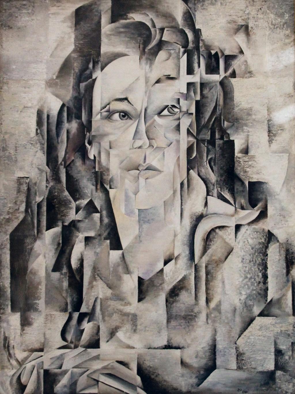 Kubistisches Selbstpotrait, Daniela Friederike Lüers