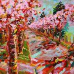 Morgenlicht diffus - und Kirschblüten