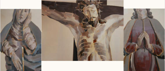 Projekt Kreuzigungsgruppe St. Georg