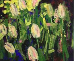 Tulpenfrühling und Sonne