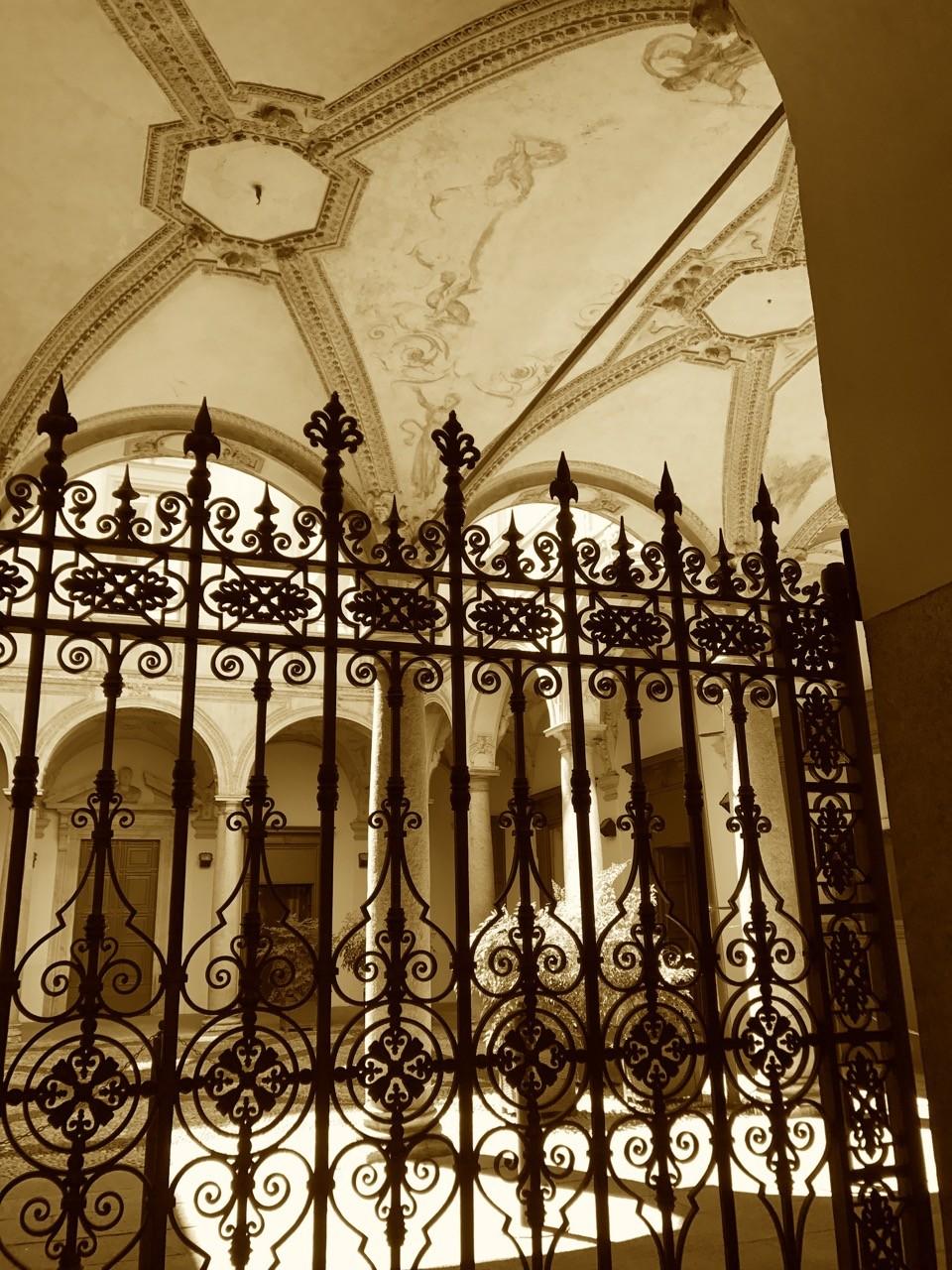 Architektur Details in Mailand