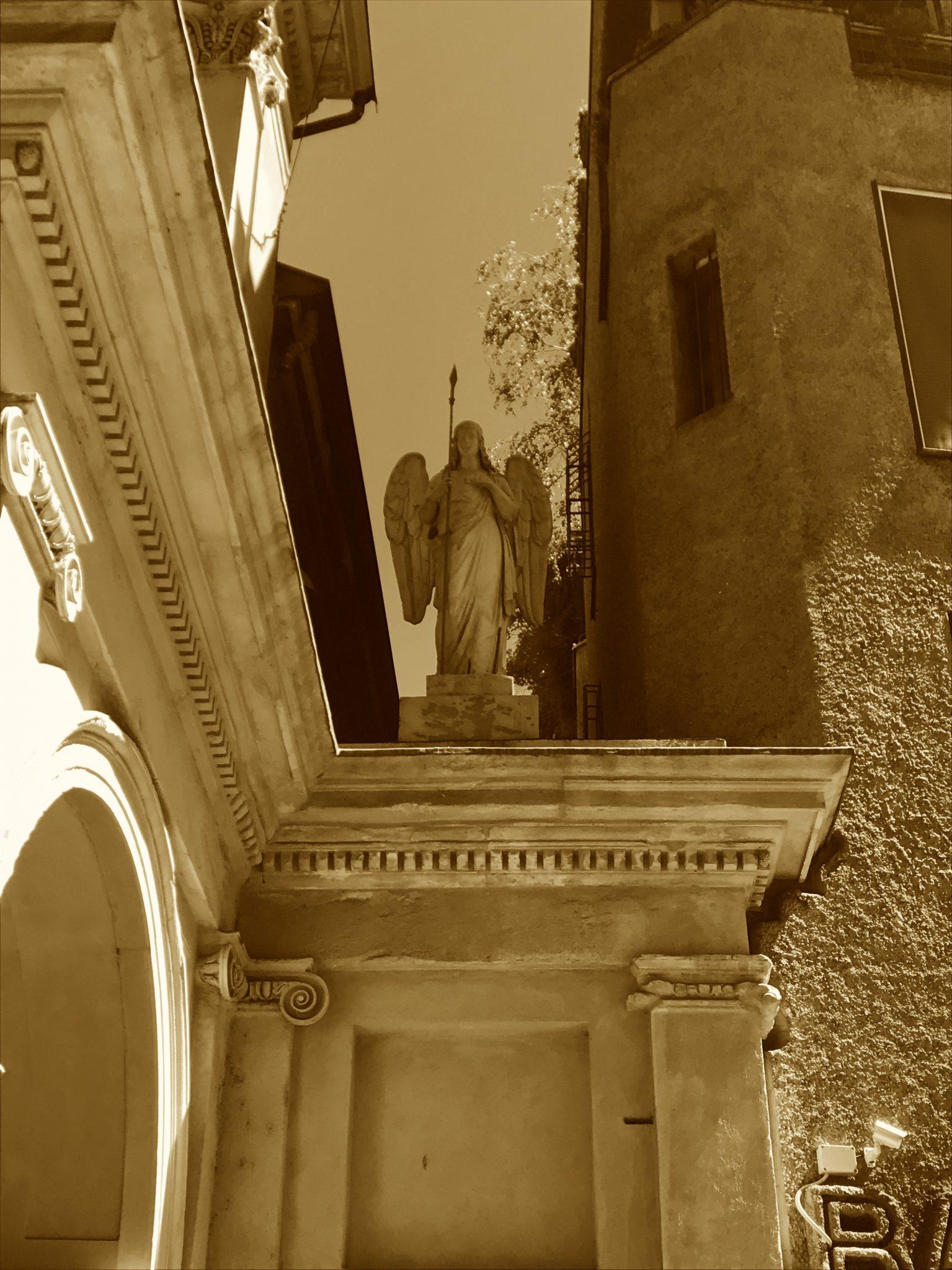 Statue in Mailand