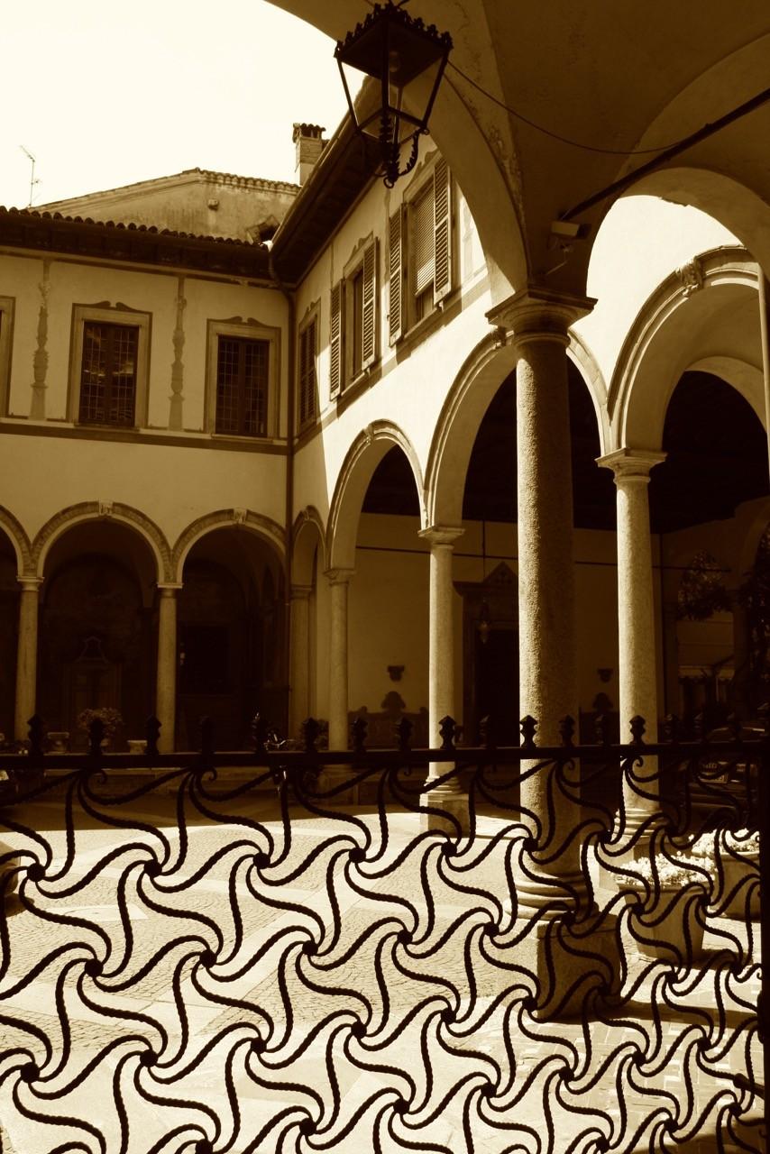 Innenhof in Mailand